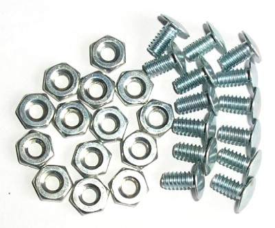 GRILLE RIVET BOLTS