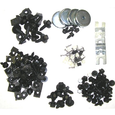 1968-72 CHEVELLE FENDER FASTENER HARDWARE KIT