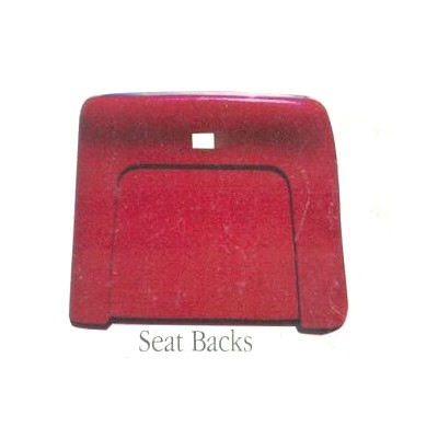 1969-72 CHEVELLE BUCKET SEAT BACKS- COLORS