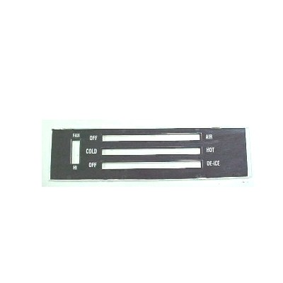 1971-72 CHEVELLE HEATER FACE PLATE