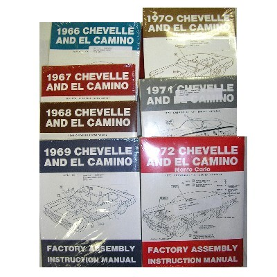 1964-72 CHEVELLE ASSEMBLY MANUAL