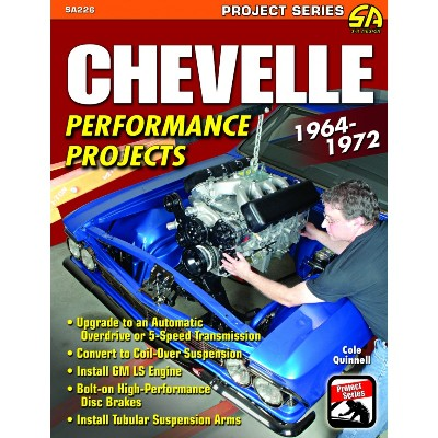 1964-72 CHEVELLE PERFORMANCE PROJECTS BOOK