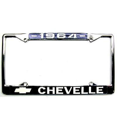 1964-72 CHEVELLE LICENSE PLATE FRAME - 1964-72 Chevelle Parts ...