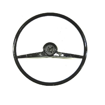 1957 CHEVROLET 16-inch STEERING WHEEL-BLACK
