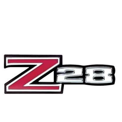 1972 1973 Camaro Z-28 Grille Emblem with Retainer Z28