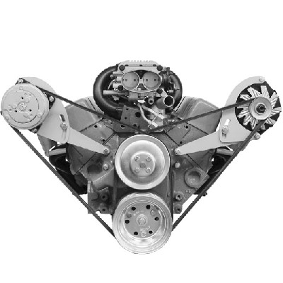 SMALL BLOCK ALTERNATOR BRACKET