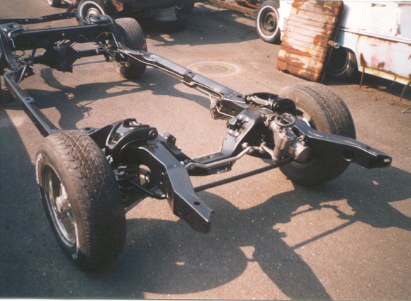 This is the fully finished chassis from the 1970 Monte Carlo we recently finished restoring.