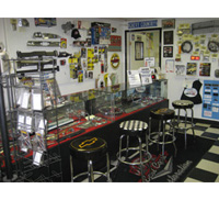 Our welcoming store front has many parts on display for your 1955-57 Chevy or 1964-72 Chevelle