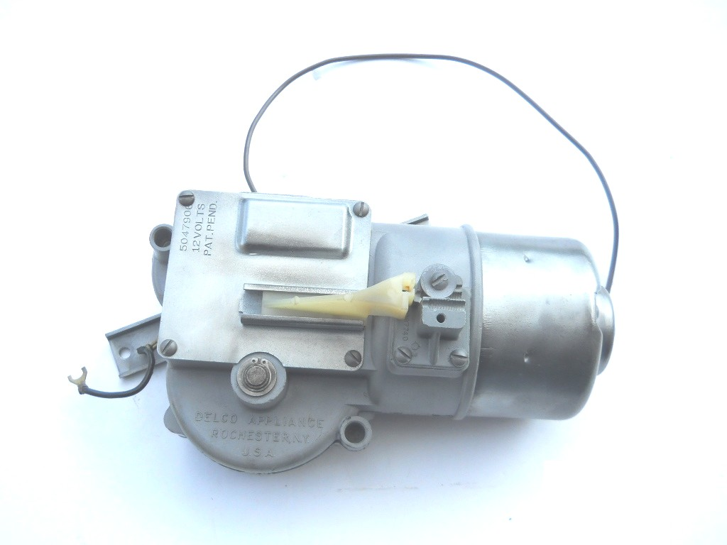 1955 57 Chevrolet Electric Wiper Motor Reconditioned Parts Gm Fuel Pump